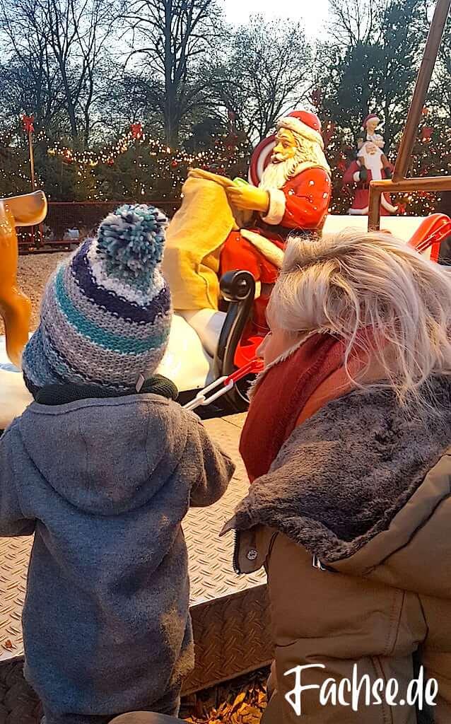Mutter und Kind Karussel Nikolaus
