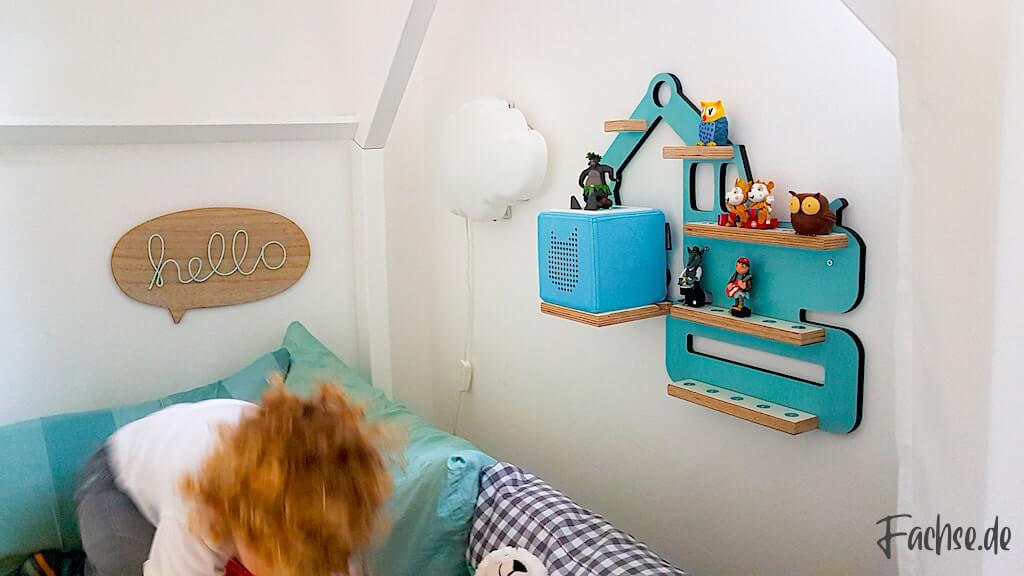 Toniebox Regal Junge Kinderbett