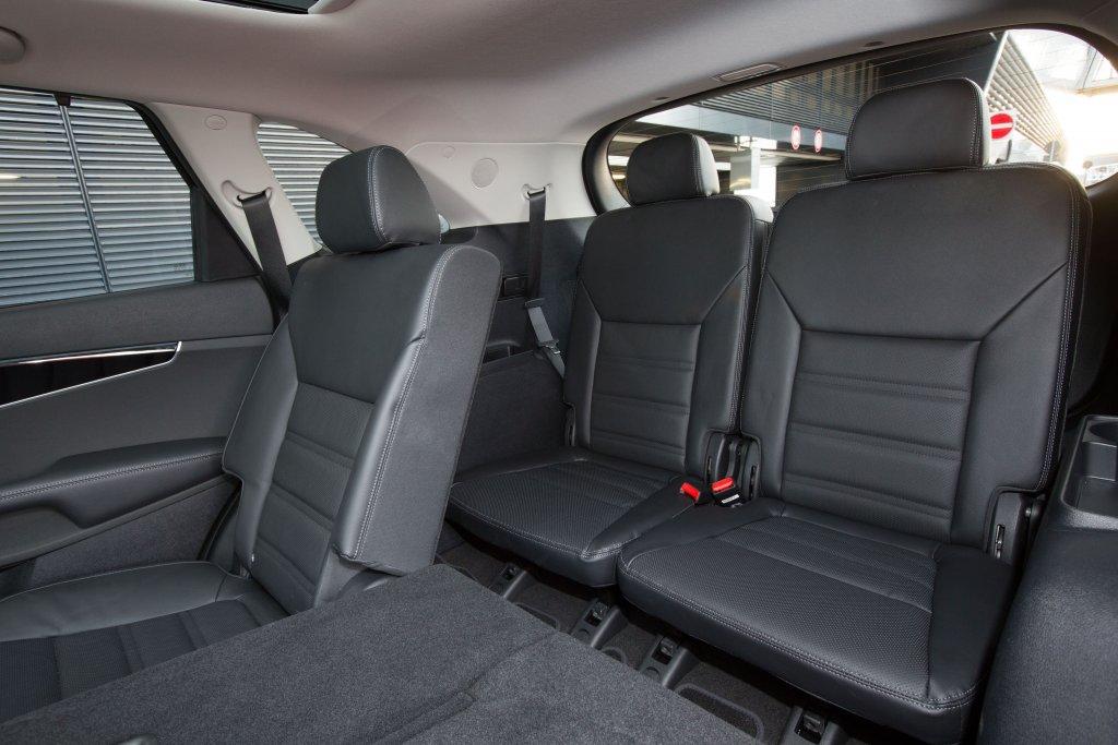 Kia Sorento 7-Sitzer letzte Sitzreihe