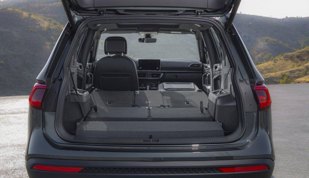 Geöffneter Kofferraum Seat Tarraco