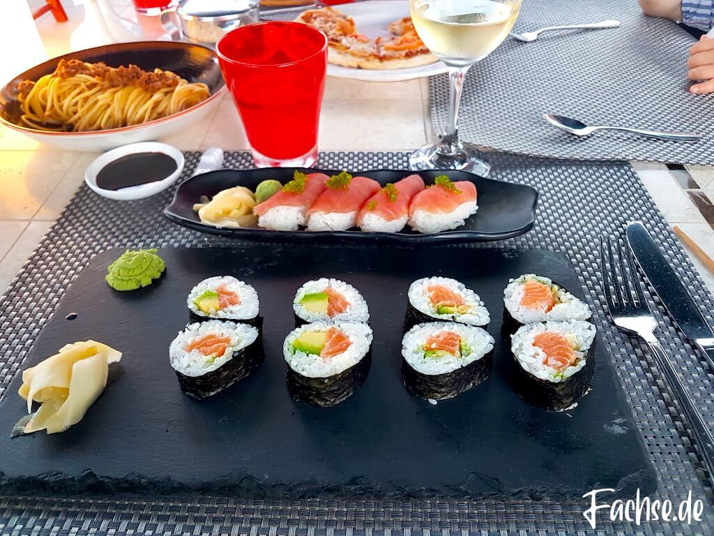Sushi Dinner Asiatisch japanisch Maki Nigiri