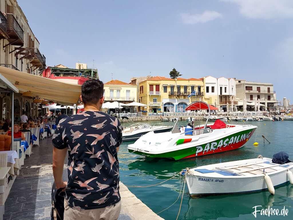 Rethymnon Kreta Hafen Venedig