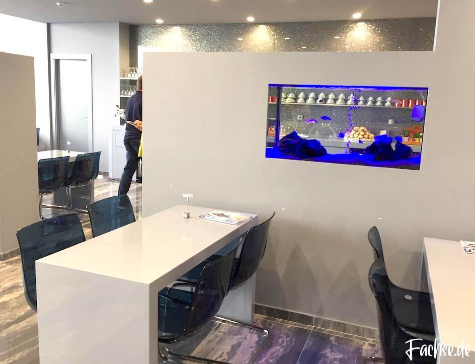 VIP Lounge Kreta Flughafen Auqarium