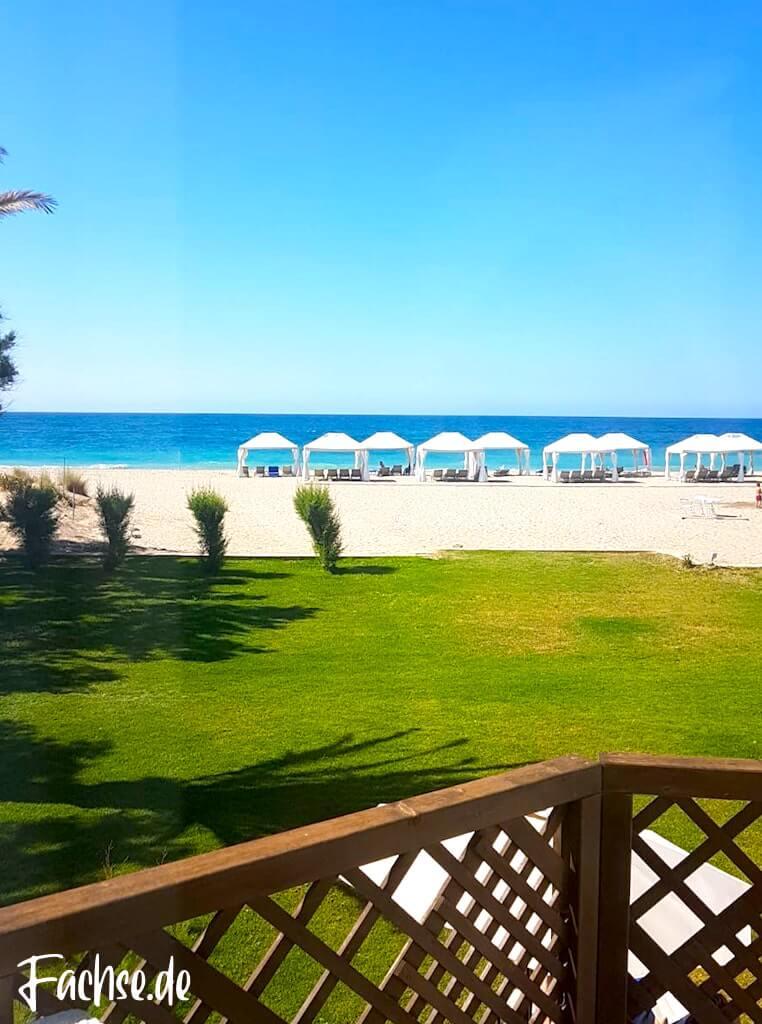 Meer Strand Sonne Sommer Kreta Rethymnon Sommerurlaub