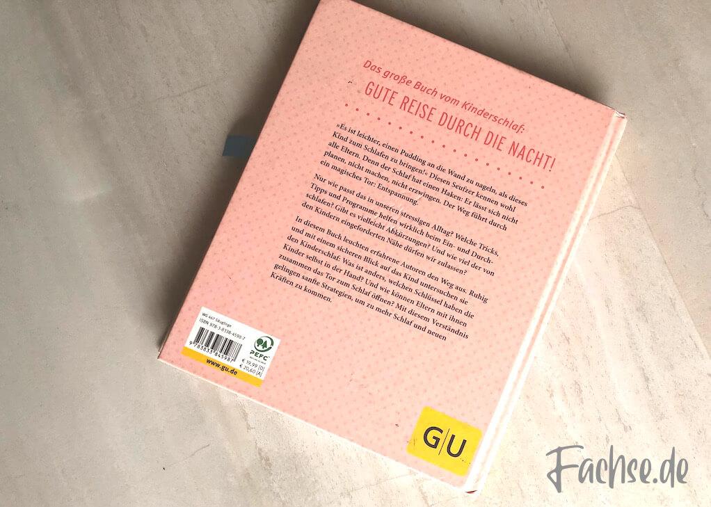 Buch Buchrücken Schlaf gut, Baby! Nora Imlau