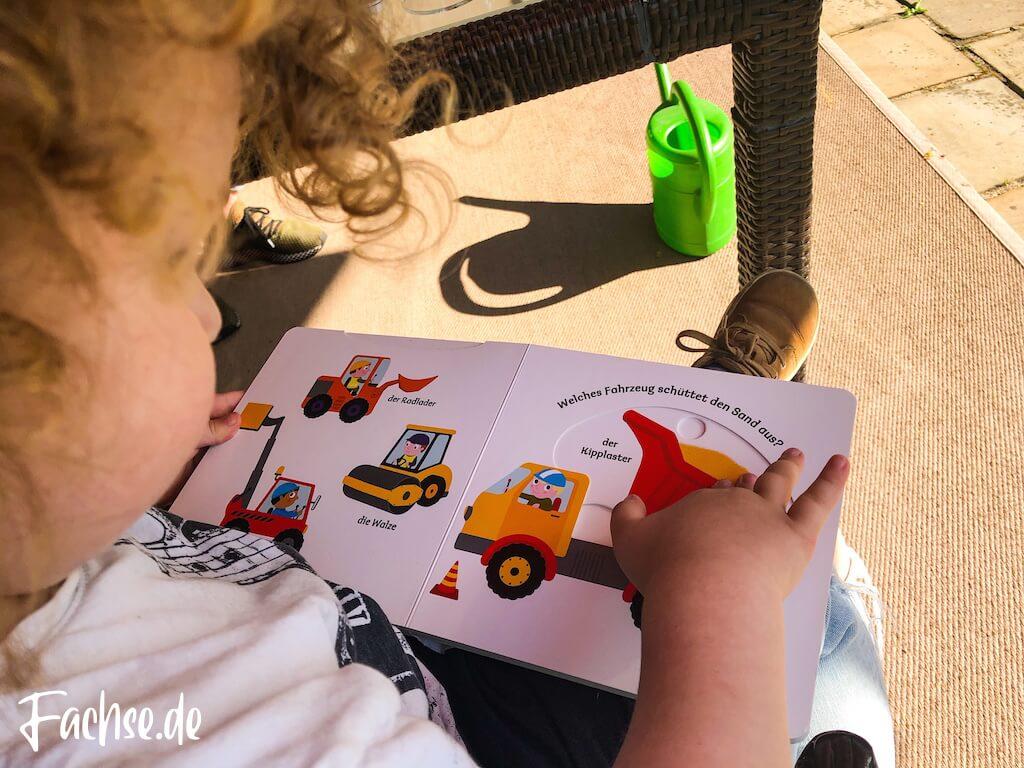 Kleinkind Junge Kinderbuch Bagger Kipplader Kinderbücher