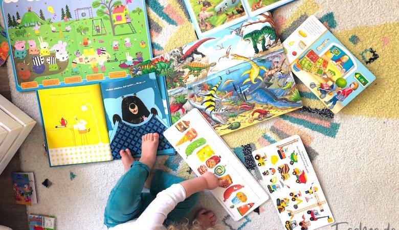 Kinderbücher Kleinkind Kind Kinderteppich Peppa Wutz Wimmelbuch