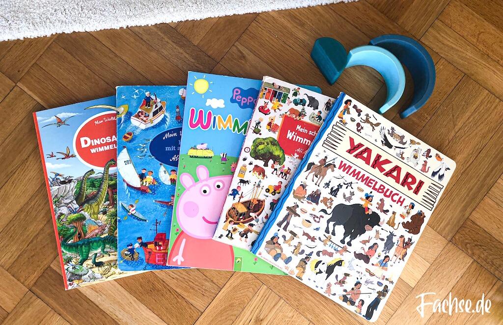 Kinderbuch Junge Kleinkind Klappenbuch Wimmelbuch Yakari Mitgutsch Peppa Wutz