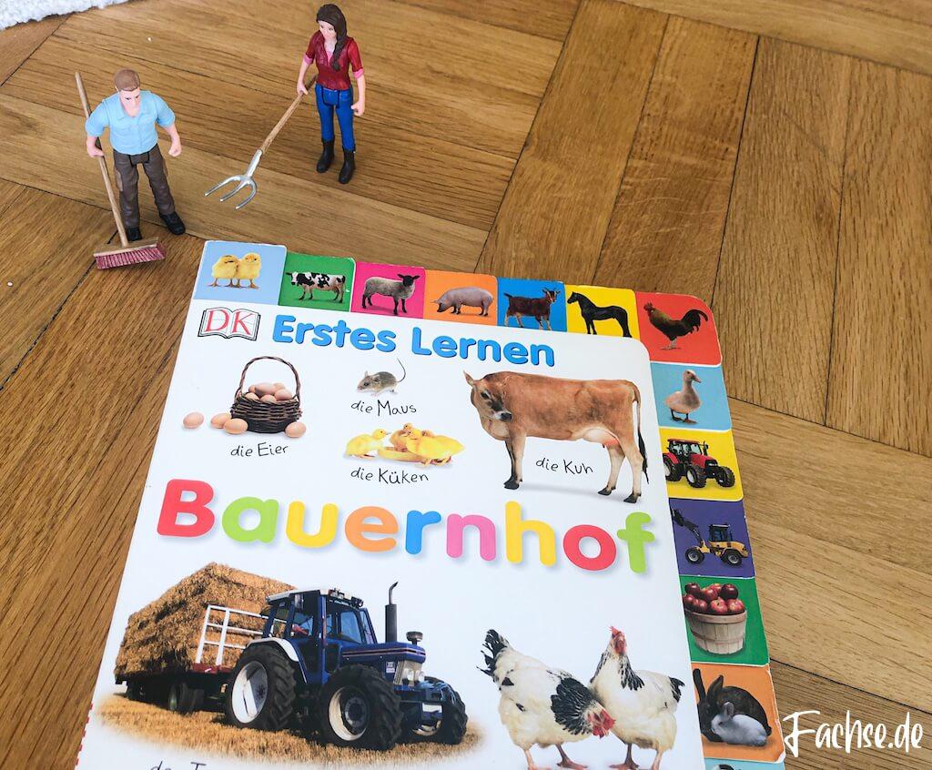 Kinderbuch Junge Kleinkind Klappenbuch Babybuch Baustellenbuch Bauernhofbuch Bauernhof