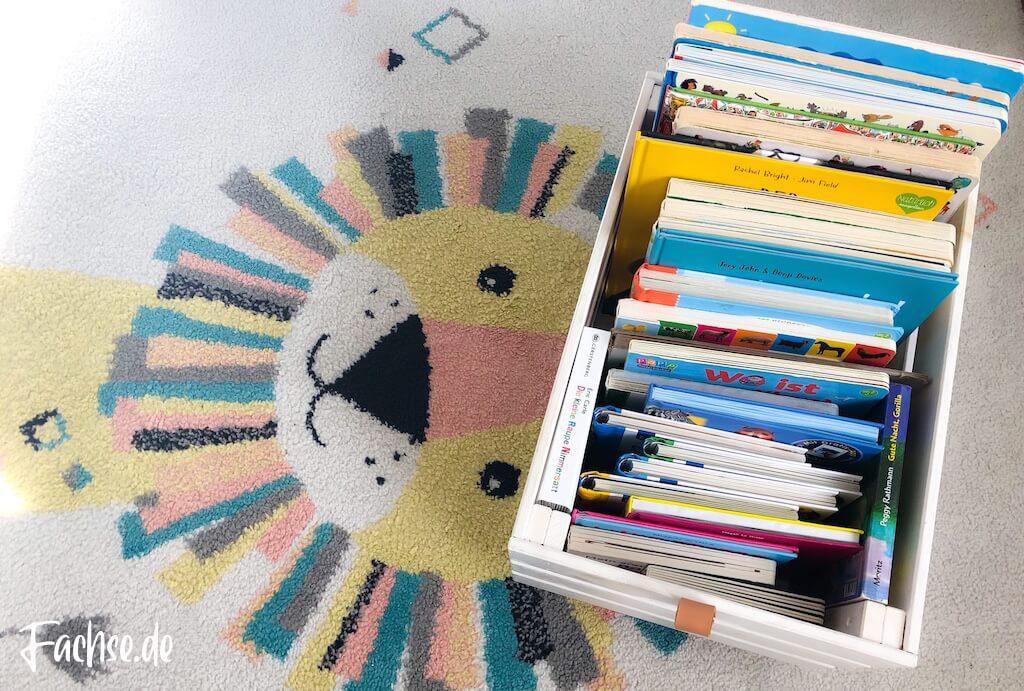 Kinderbuch Junge Kleinkind Bücherkiste DIY Ikea Kiste Östernas