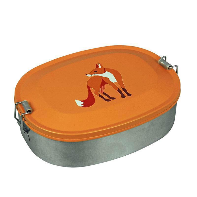 Brotdose Lunchbox Capventure Edelstahl Fuchs