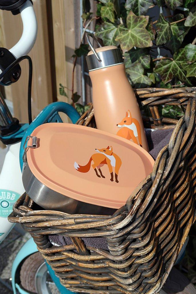Brotdose Lunchbox Trinkflasche Edelstahl BPA frei