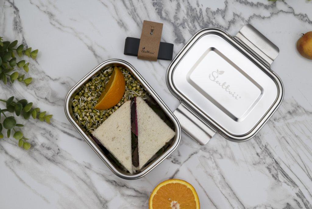 Edelstahl Brotdose Lunchbox
